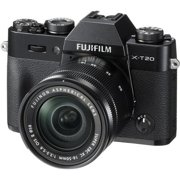 Fujifilm X-T20 černý + 16-50 mm II  - 1