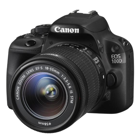 Canon EOS 100D+18-55 IS STM + 55-250 IS STM  - 1