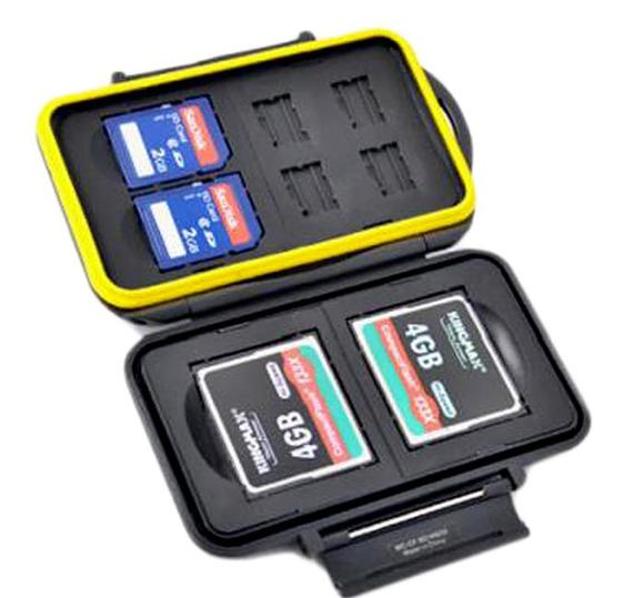 JJC MC-CF/SD/MSD8 Memory Card Case  - 1