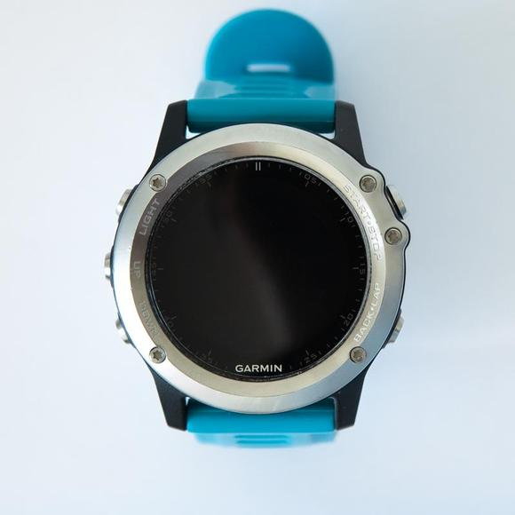 Garmin fenix3 HR Optic Blue band BAZAR. Použité. Nefunguje GPS  - 1