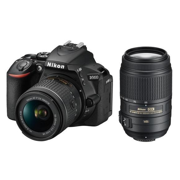 Nikon D5600 + 18-55 AF-P VR + 55-300 AF-S DX VR  - 1