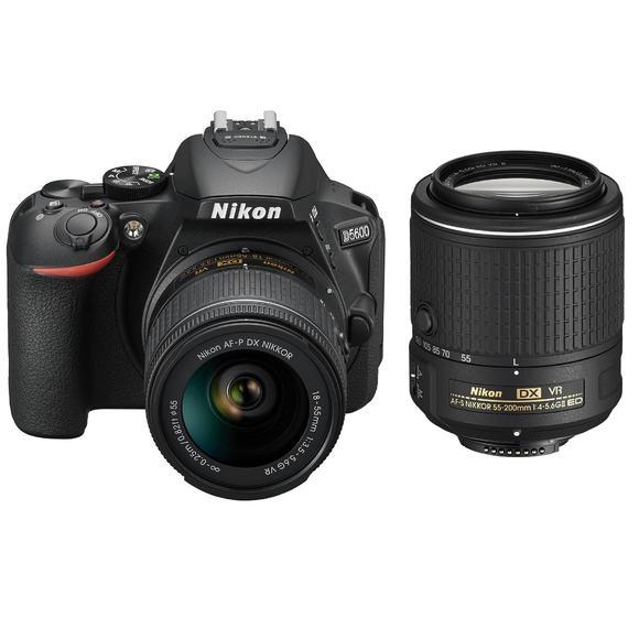 Nikon D5600 + 18-55 AF-P VR + 55-200 mm VR II  - 1