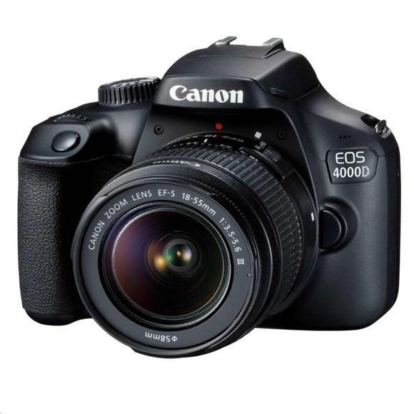 Canon EOS 4000D + EF-S 18-55 DC III  - 1