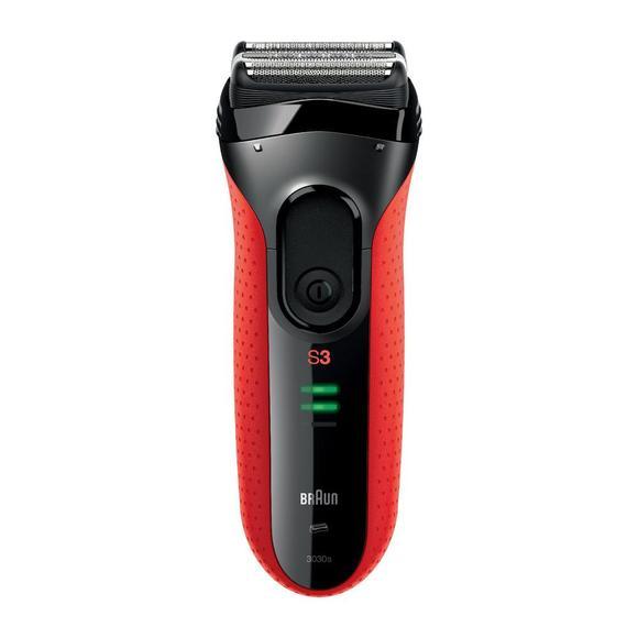 Braun Series 3-3030s černý/červený  - 1