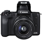 Canon EOS M50 + EF-M 15-45 mm IS STM Value Up Kit - 3/6
