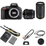 Nikon D5500 + 18-55 AF-P VR + 70-300mm AF-P DX VR - 5/5