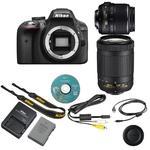 Nikon D3300 + 18-55 VR AF-P + 70-300 DX VR AF-P, černá - 6/6