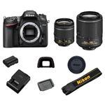 Nikon D7200 + 18-55 AF-P VR + 55-200 VR II  - 6/6