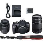 Canon EOS 2000D + 18-55 IS II + 75-300 DC III - 7/7