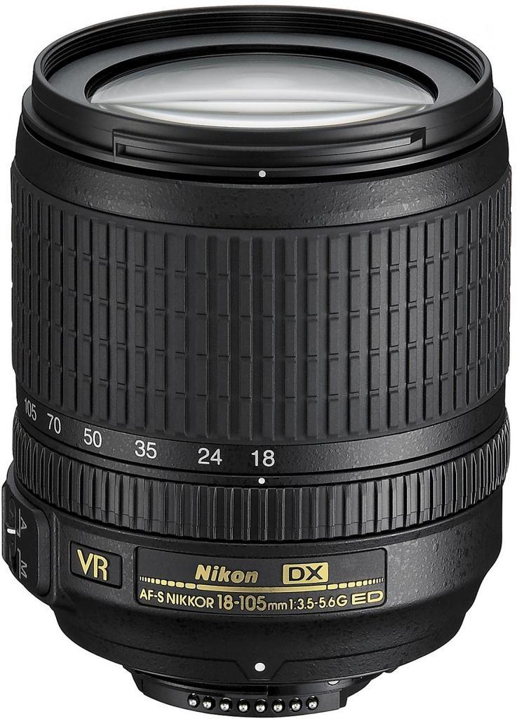 Nikon 18-105mm f/3.5-5.6G ED VR AF-S DX + Servis plus zdarma
