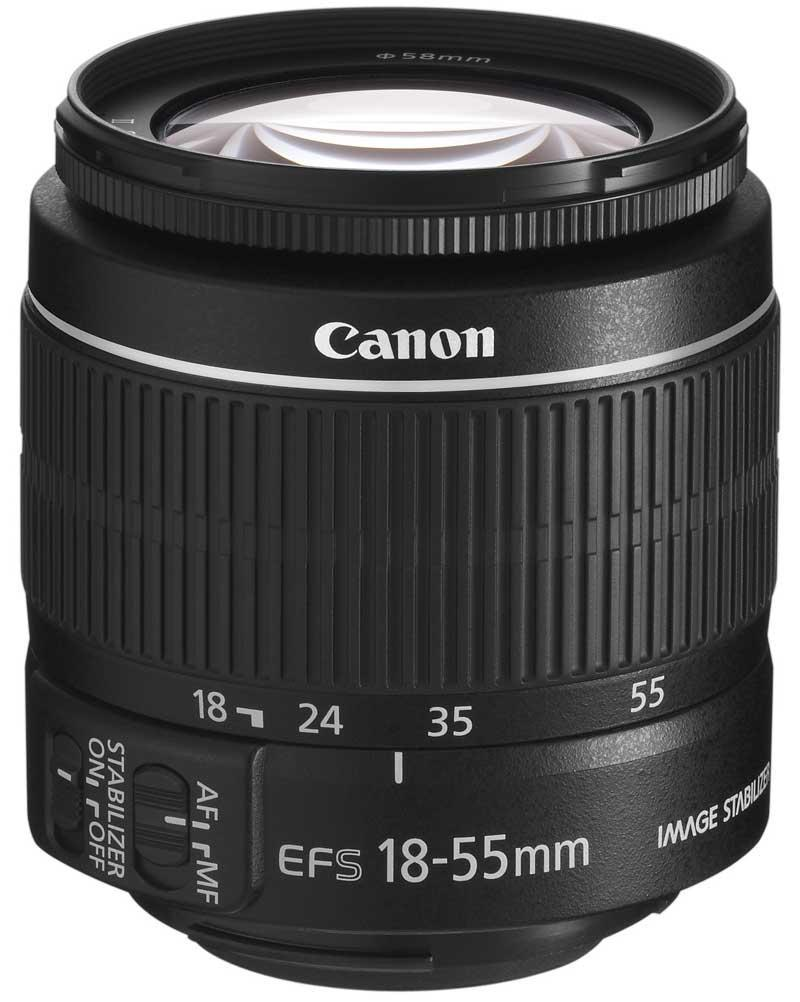 Canon EF-S 18-55mm f/3.5-5.6 IS II + Servis plus zdarma