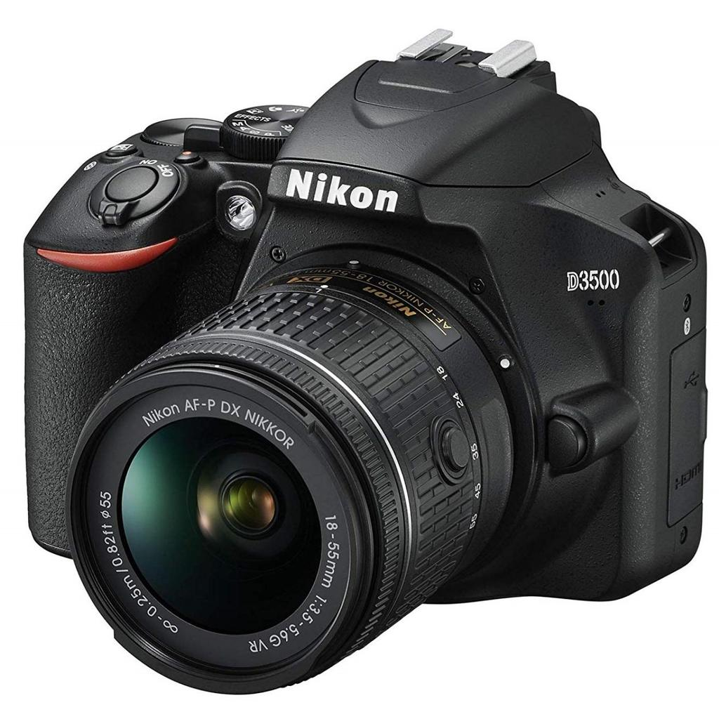 Nikon D3500 + 18-55mm AF-P DX VR + Servis plus zdarma