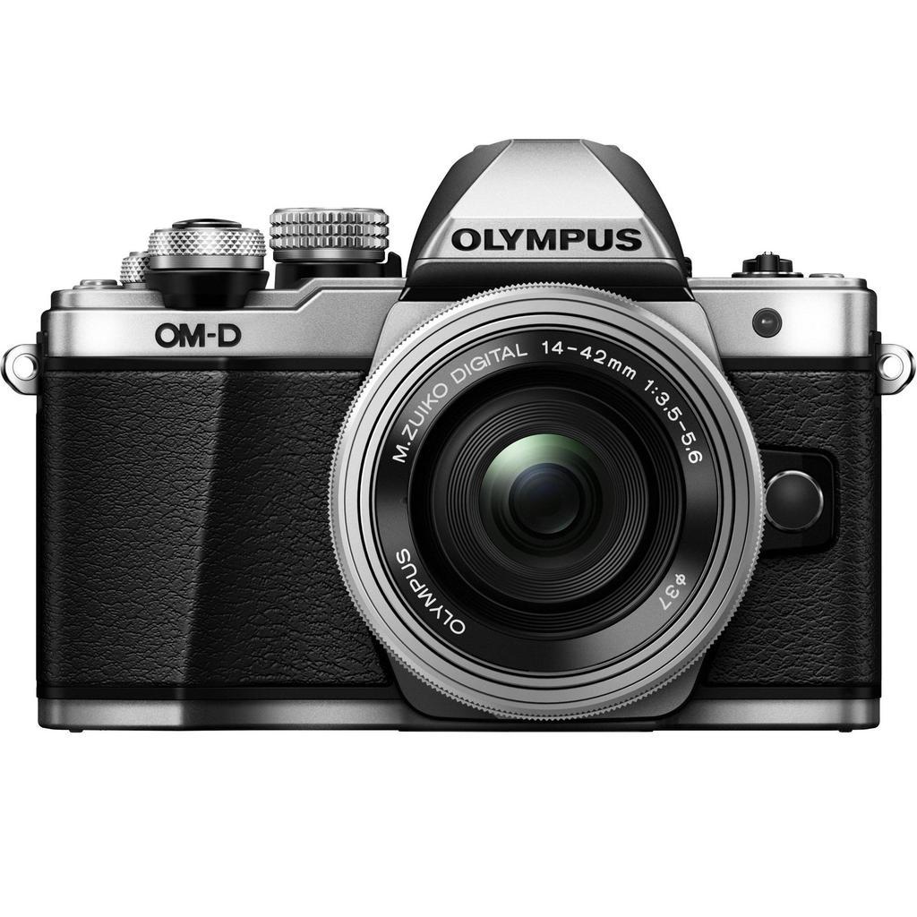 Olympus E-M10 Mark II + 14-42mm, stříbrná