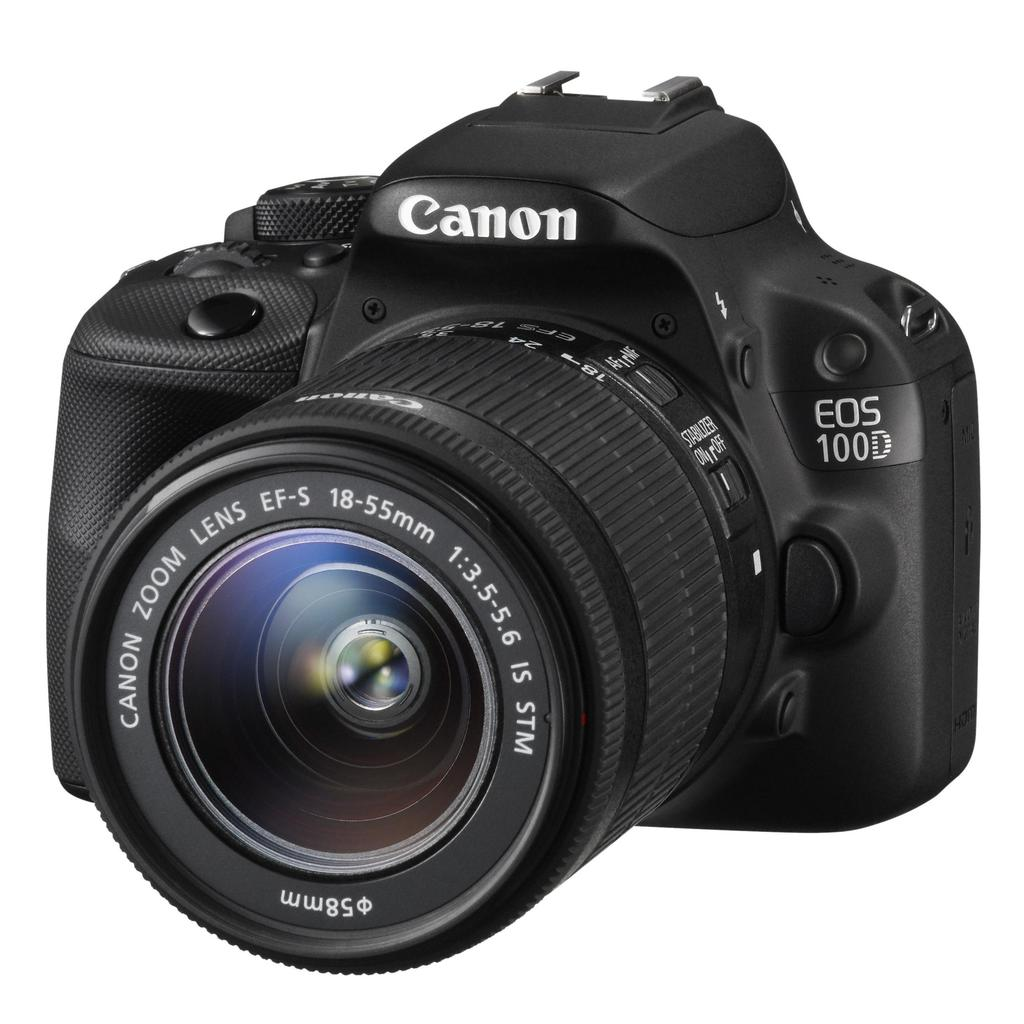 Canon EOS 100D+18-55 IS STM + 75-300 III