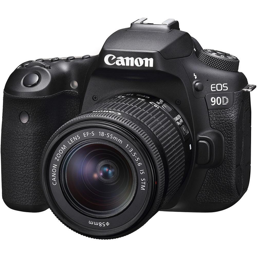 Canon EOS 90D + EF-S 18-55mm f/3.5-5.6 IS STM + Servis plus zdarma
