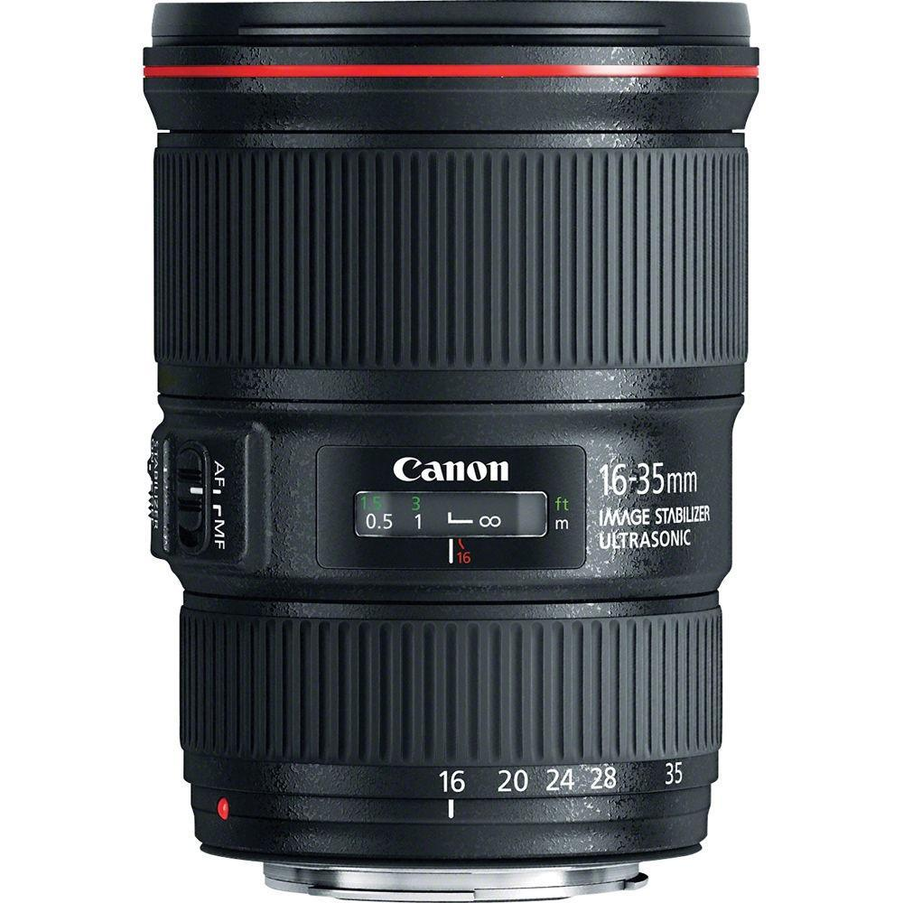 Canon EF 16-35 mm f/4L IS USM + Servis plus zdarma