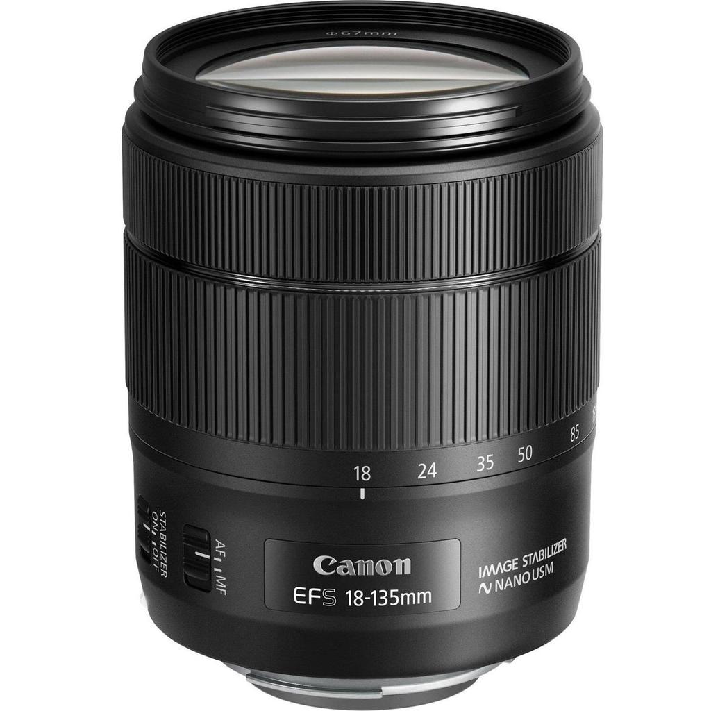 Canon EF-S 18-135mm f/3.5-5.6 IS NANO USM + Servis plus zdarma