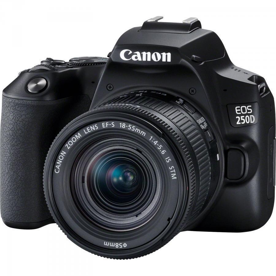 Canon EOS 250D + 18-135mm IS STM + Servis plus zdarma