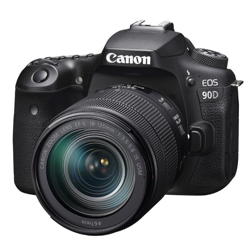 Canon EOS 90D + EF- S 18-135mm f/3,5-5,6 IS USM + Servis plus zdarma