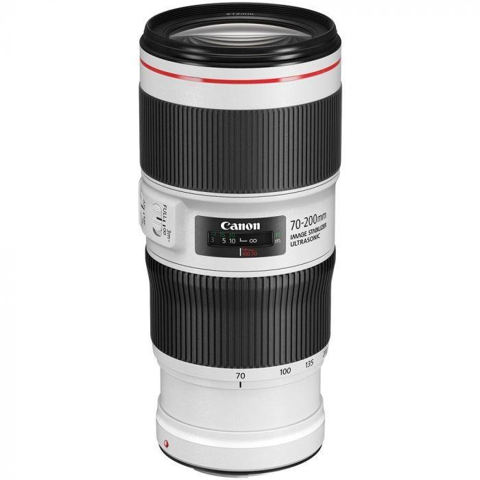 Canon EF 70-200mm f/4 L IS II USM + Servis plus zdarma