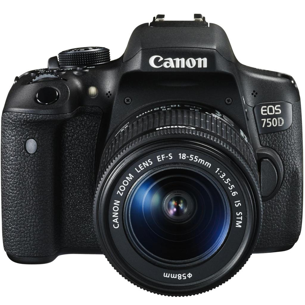 Canon EOS 750D + 18-55 IS STM + 75-300 III + Servis plus zdarma
