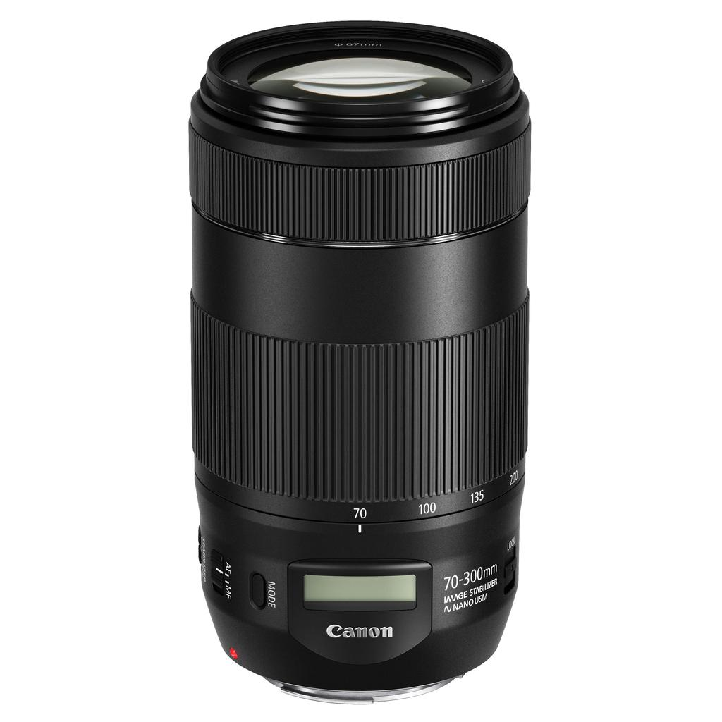 Canon EF 70-300mm f/4.0-5.6 IS II USM + Servis plus zdarma
