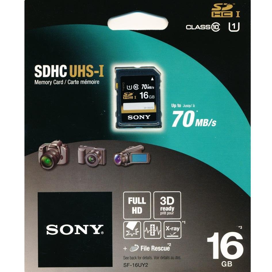 Sony SDHC 16GB UHS-I class 10