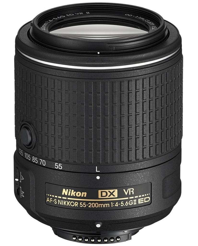 Nikon 55-200mm f/4-5,6G AF-S DX VR II IF-ED