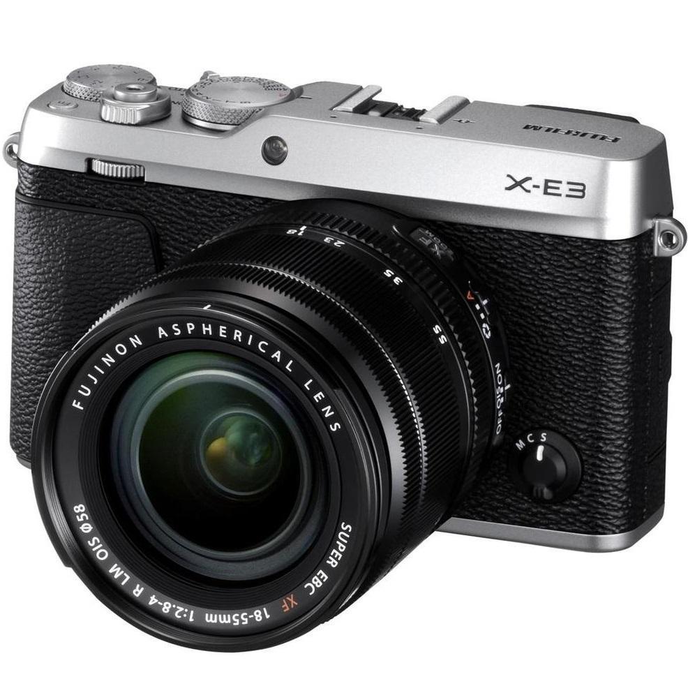 Fujifilm X-E3 + XF 18-55 stříbrná + Servis plus zdarma