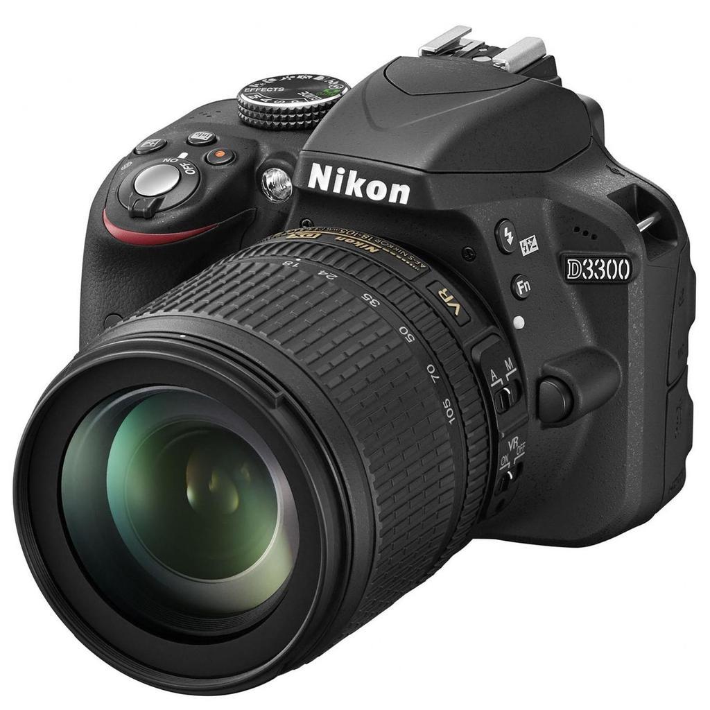 Nikon D3300 + 18-105 mm AF-S DX VR