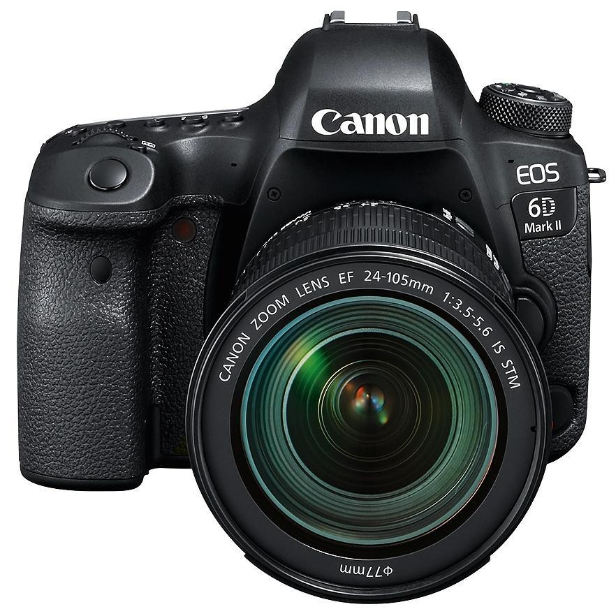 Canon EOS 6D Mark II + 24-105mm IS STM + Servis plus zdarma