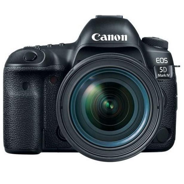 Canon EOS 5D Mark IV body + EF 24-70mm f/2.8 L USM II + Servis plus zdarma