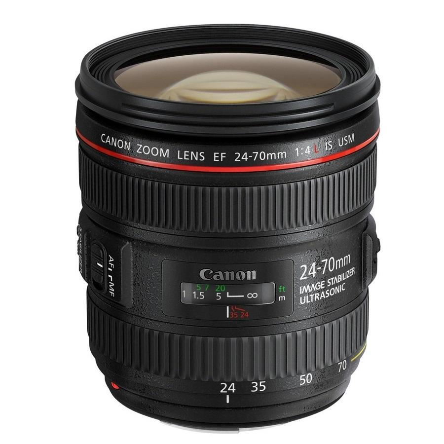 Canon EF 24-70mm f/4 L IS USM + Servis plus zdarma