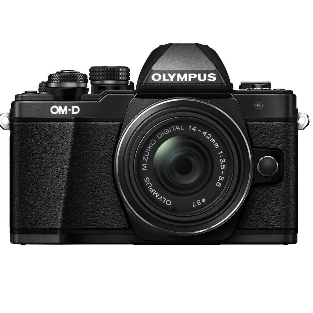 Olympus E-M10 Mark II + 14-42mm, černá + Servis plus zdarma