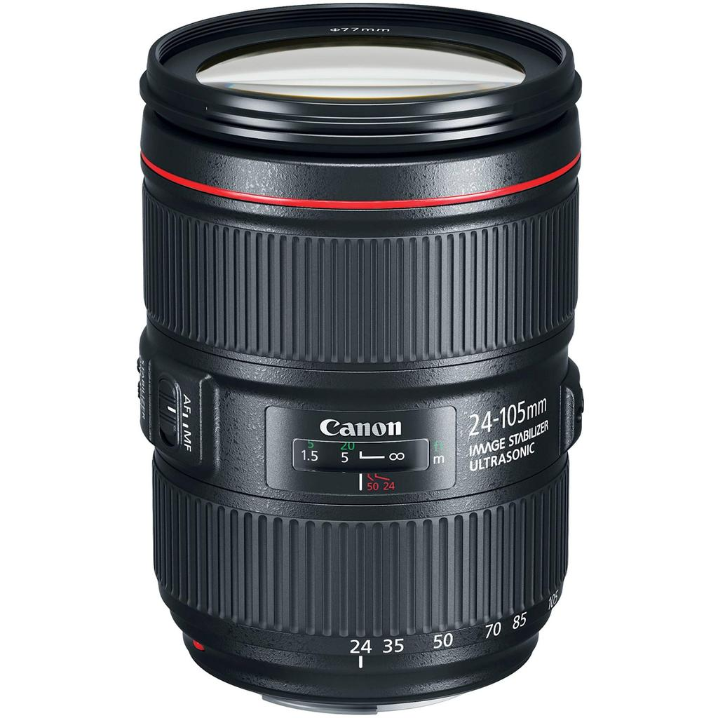Canon EF 24-105mm f4L IS II USM + Servis plus zdarma