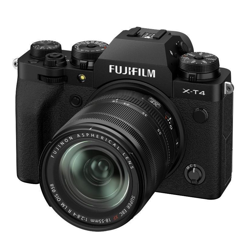 Fujifilm X-T4 + XF 18-55 mm f/2,8-4 OIS, Black + Servis plus zdarma