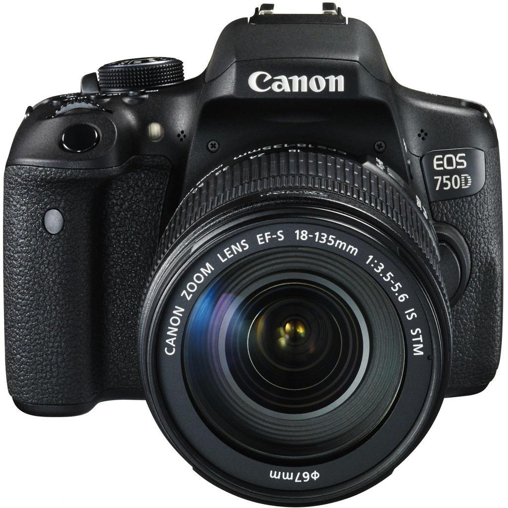 Canon EOS 750D + EF-S 18-135 IS STM + Servis plus zdarma