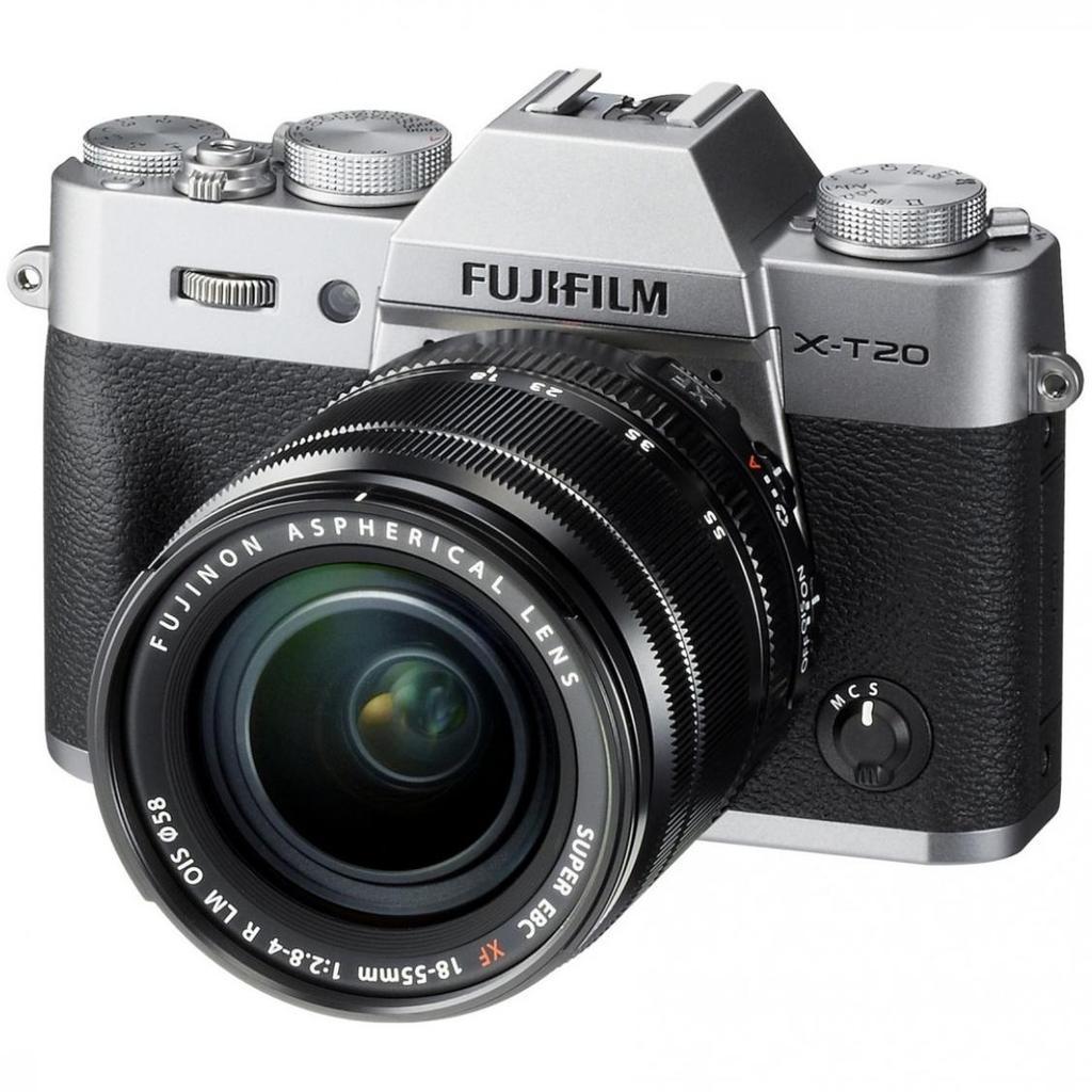Fujifilm X-T20 + XF 18-55mm F 2.8-4 R LM OIS + Servis plus zdarma