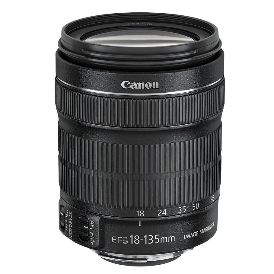 Canon EF-S 18-135mm f/3.5-5.6 IS STM + Servis plus zdarma