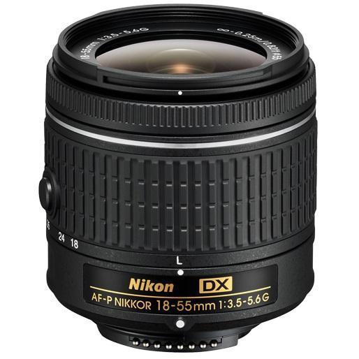Nikon 18-55mm f/3,5-5,6G AF-P DX (NON VR)