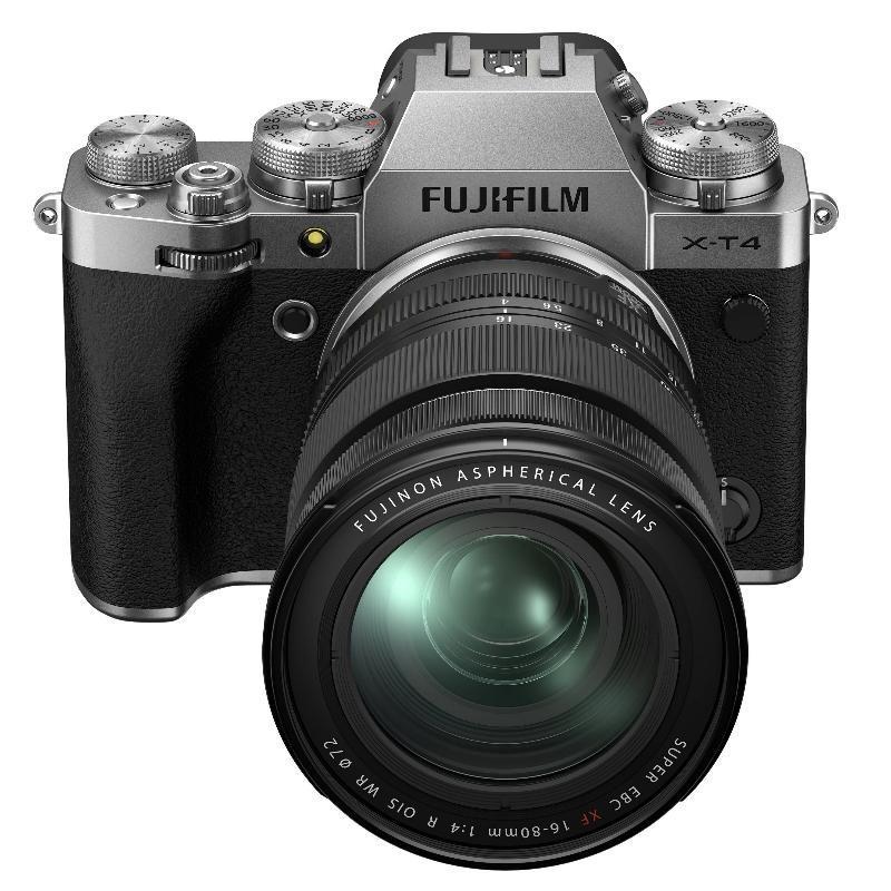 Fujifilm X-T4 + XF 16-80 mm f/4,0 R OIS WR, Silver + Servis plus zdarma