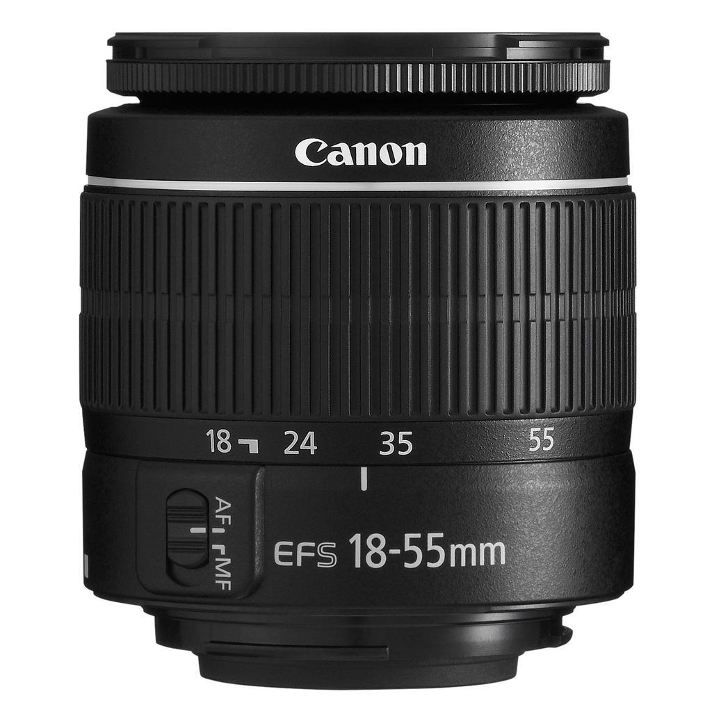 Canon EF-S 18-55mm f/3.5-5.6 DC III + Servis plus zdarma