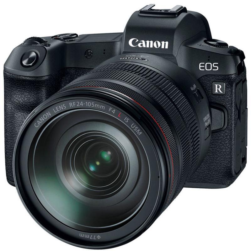 Canon EOS R+ 24-105 L USM F4.0 + EF-EOS R adaptér + Servis plus zdarma