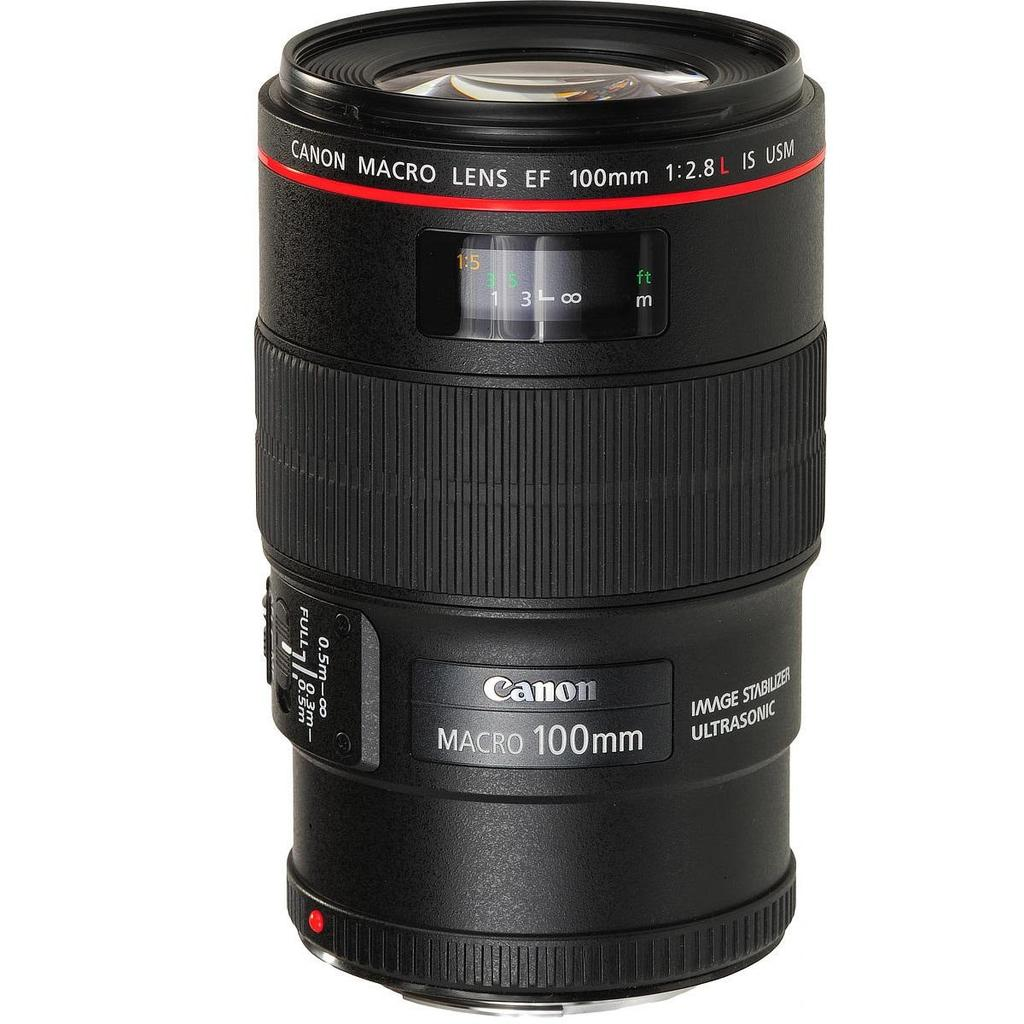 Canon EF 100mm f/2.8L Macro IS USM + Servis plus zdarma