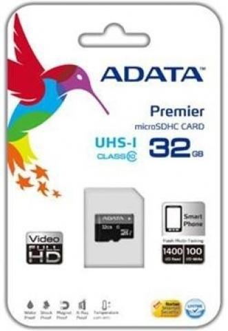 Adata Premier micro SDHC 32GB Class 10 UHS-I