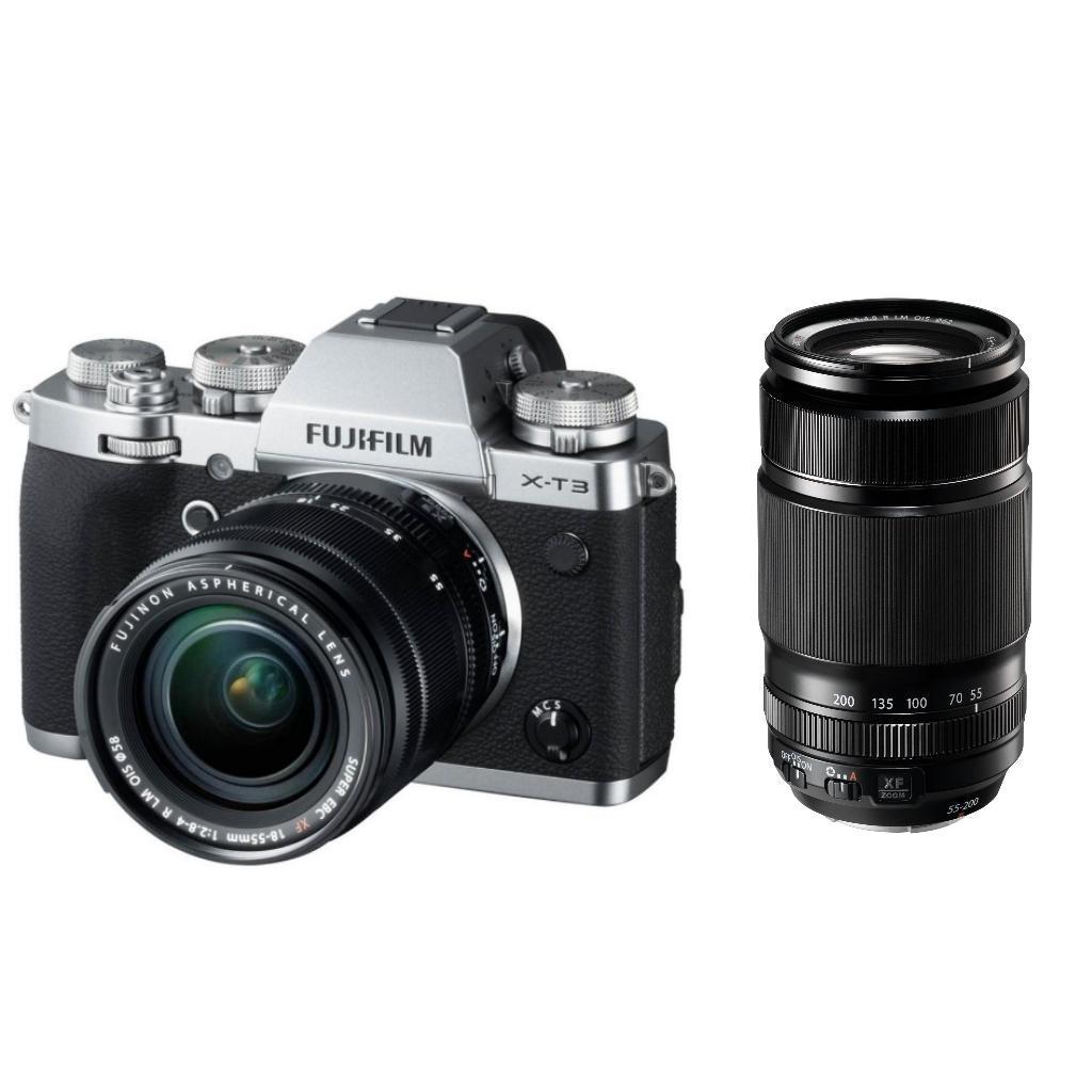 Fujifilm X-T3 + XF 18-55 mm R LM OIS + XF 55-200mm F/3.5-4.8 + Servis plus zdarma