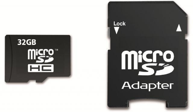 Memory Card SDHC 32GB Class 10 + Adaptér