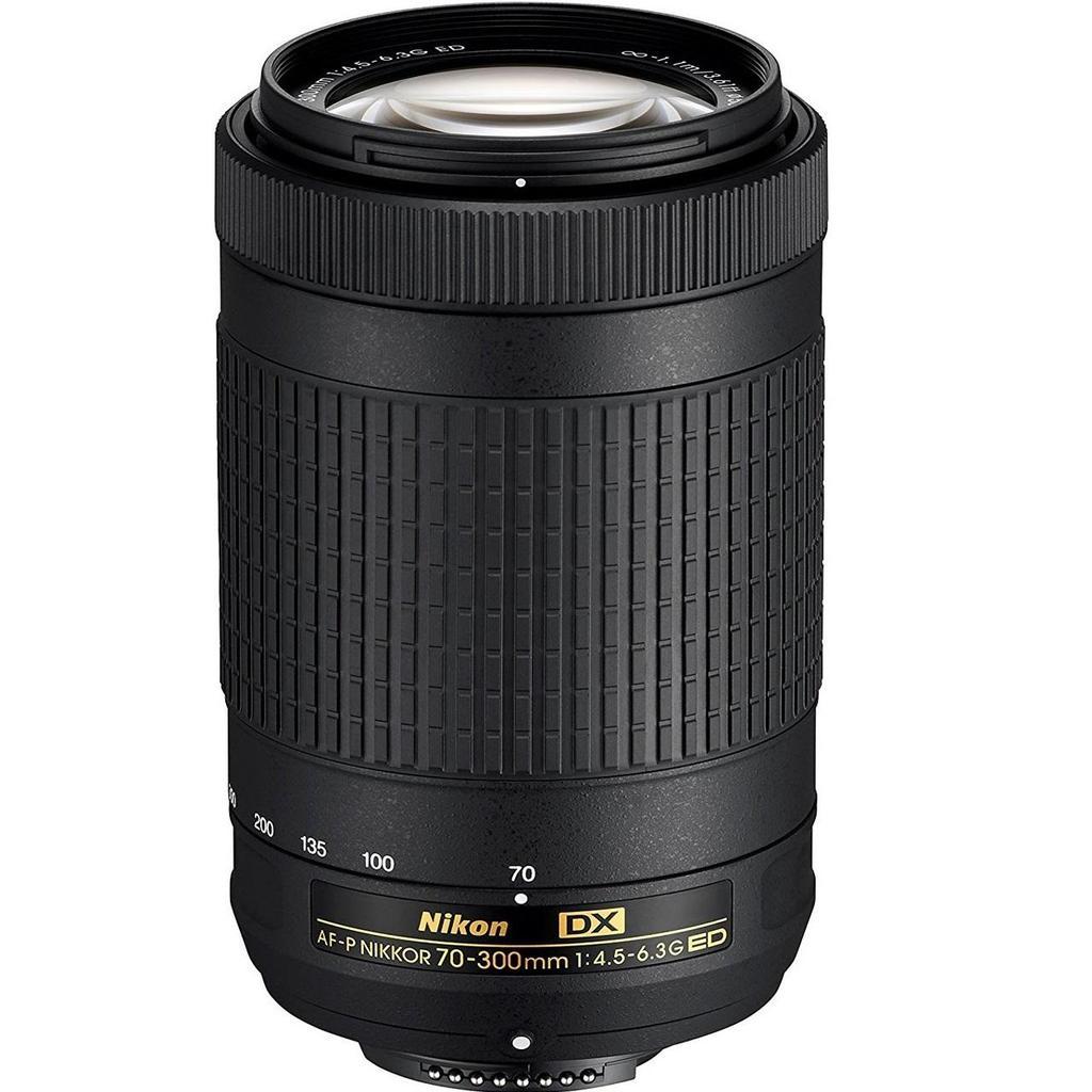 Nikon 70-300mm F/4.5-6.3G ED AF-P DX + Servis plus zdarma