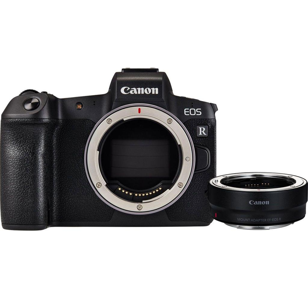 Canon EOS R tělo + Adaptér EF-EOS R + Servis plus zdarma