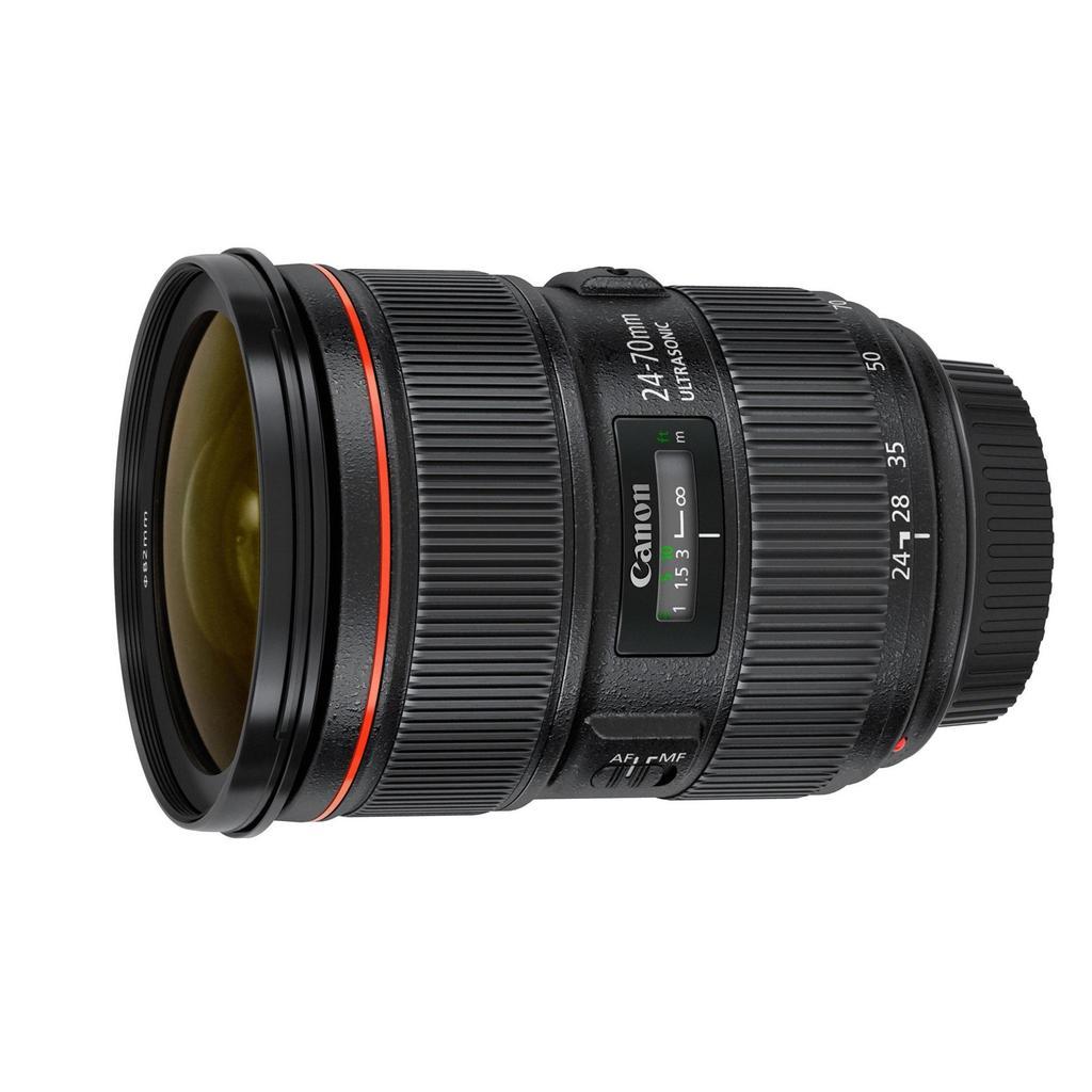 Canon EF 24-70mm f/2.8 L USM II + Servis plus zdarma
